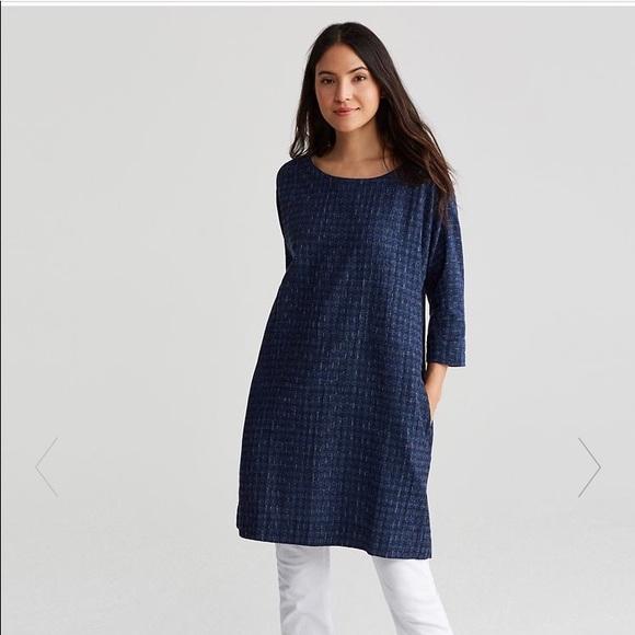 860513a7d5e Eileen Fisher Dresses   Skirts - Eileen Fisher Organic Cotton Shizuku  A-Line Dress